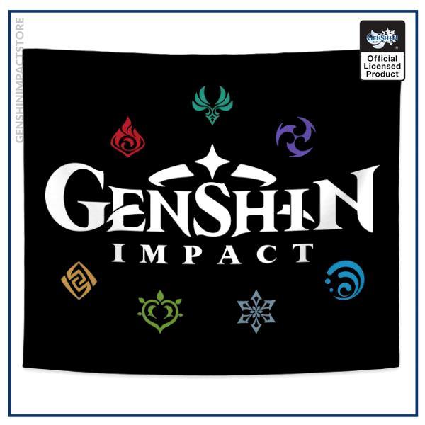 Genshin Impact Elements (Colours)