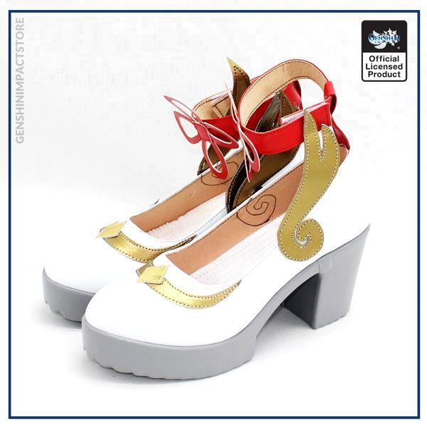 GANYU Cosplay Shoes New Game Genshin Impact Cosplay Props Anime Lolita Women s Shoes Boots Custom 2 - Genshin Impact Store
