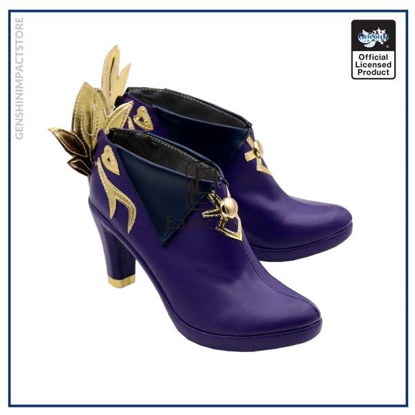 Game Genshin Impact Keqing Cosplay Halloween Carnival Party Shoes Short Fancy Boots Custom made 2 - Genshin Impact Store