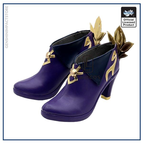 Game Genshin Impact Keqing Cosplay Halloween Carnival Party Shoes Short Fancy Boots Custom made 3 - Genshin Impact Store