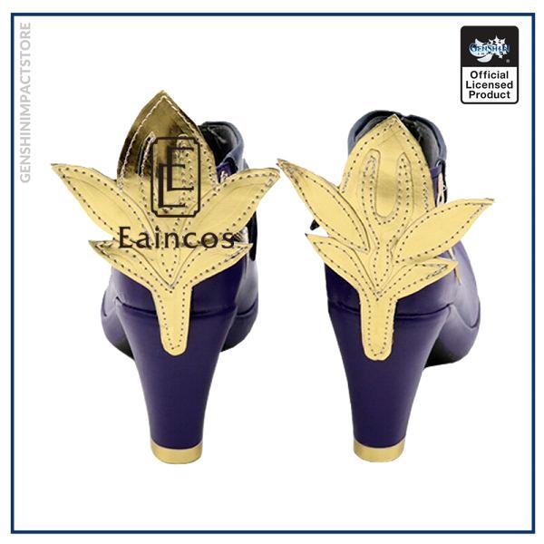 Game Genshin Impact Keqing Cosplay Halloween Carnival Party Shoes Short Fancy Boots Custom made 4 - Genshin Impact Store