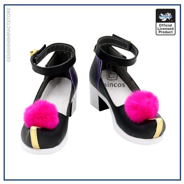 Game Genshin Impact Qiqi Cosplay Halloween Carnival Party Shoes Custom made 1 - Genshin Impact Store