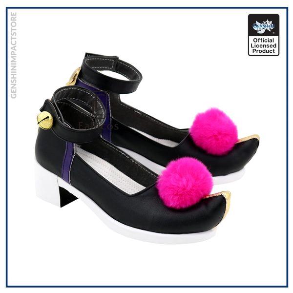 Game Genshin Impact Qiqi Cosplay Halloween Carnival Party Shoes Custom made 3 - Genshin Impact Store