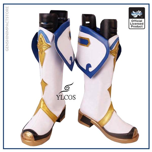 Game Genshin Impact Sucrose Cosplay Shoes Halloween Party Fancy Boots Custom Made 1 - Genshin Impact Store