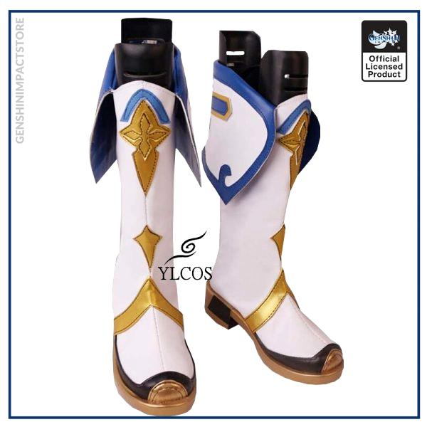 Game Genshin Impact Sucrose Cosplay Shoes Halloween Party Fancy Boots Custom Made 3 - Genshin Impact Store