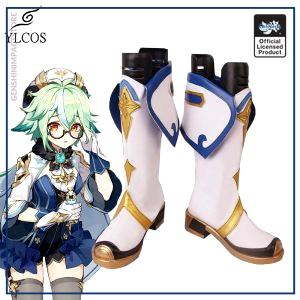 Game Genshin Impact Sucrose Cosplay Shoes Halloween Party Fancy Boots Custom Made - Genshin Impact Store