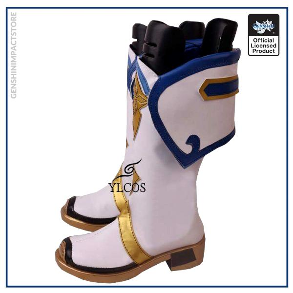 Game Genshin Impact Sucrose Cosplay Shoes Halloween Party Fancy Boots Custom Made 4 - Genshin Impact Store