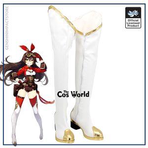 Genshin Impact Amber Games Customize Cosplay Low Heels Shoes Boots - Genshin Impact Store