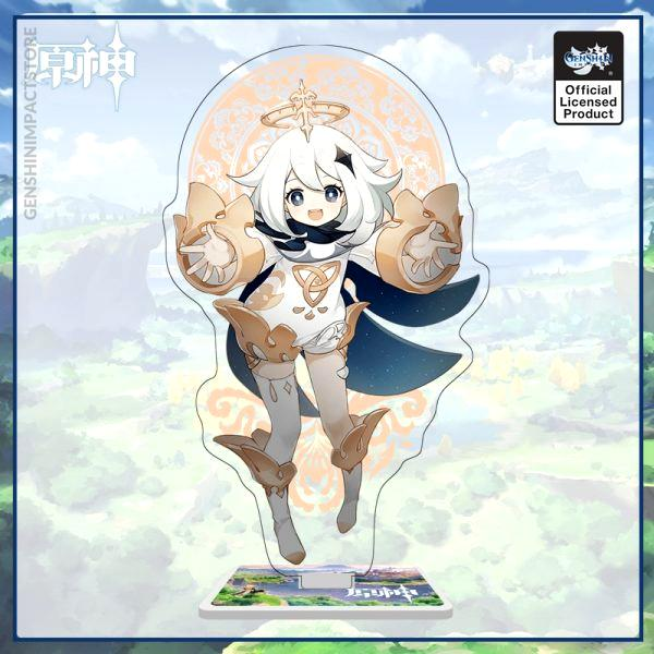 Genshin Impact Game Anime Figure Acrylic Stand Model Toy Hutao Tartaglia Xiao Qiqi Action Figures Decoration 4 - Genshin Impact Store