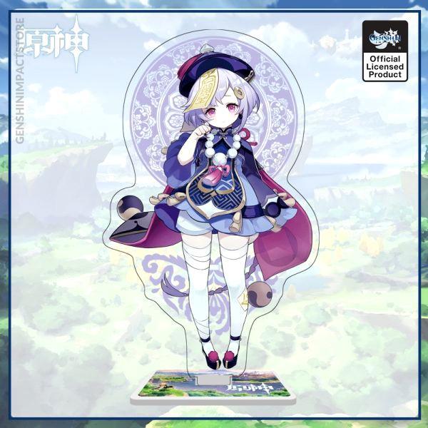 Genshin Impact Game Anime Figure Acrylic Stand Model Toy Hutao Tartaglia Xiao Qiqi Action Figures Decoration 5 - Genshin Impact Store