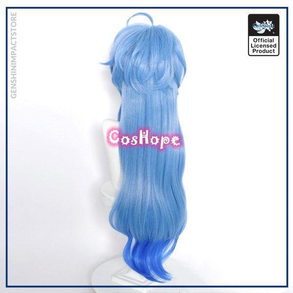 Genshin Impact Ganyu Cosplay 75cm Long Blue Gradient Wig Cosplay Anime Cosplay Wigs Heat Resistant Synthetic 3 - Genshin Impact Store