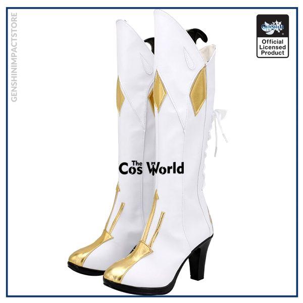 Genshin Impact Jean Games Customize Cosplay High Heels Shoes Boots 2 - Genshin Impact Store