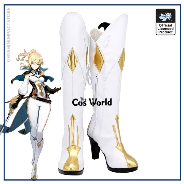 Genshin Impact Jean Games Customize Cosplay High Heels Shoes Boots - Genshin Impact Store