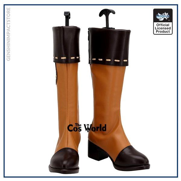 Genshin Impact Klee Games Customize Cosplay Low Heel Shoes Boots 1 - Genshin Impact Store