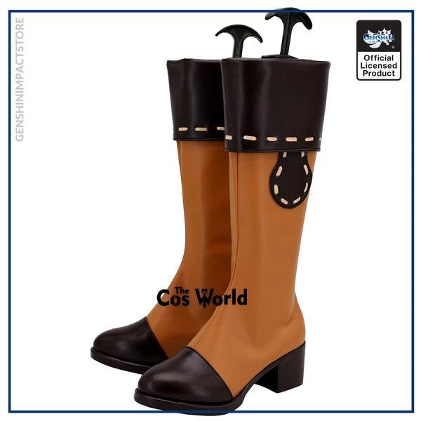 Genshin Impact Klee Games Customize Cosplay Low Heel Shoes Boots 2 - Genshin Impact Store
