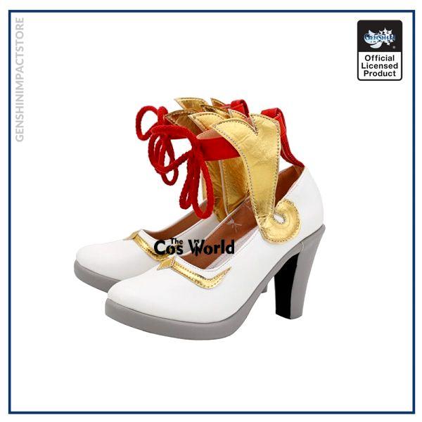 Genshin Impact Liyue Harbor Ganyu Games Customize Cosplay High Heels Shoes 2 - Genshin Impact Store