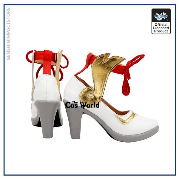 Genshin Impact Liyue Harbor Ganyu Games Customize Cosplay High Heels Shoes 3 - Genshin Impact Store