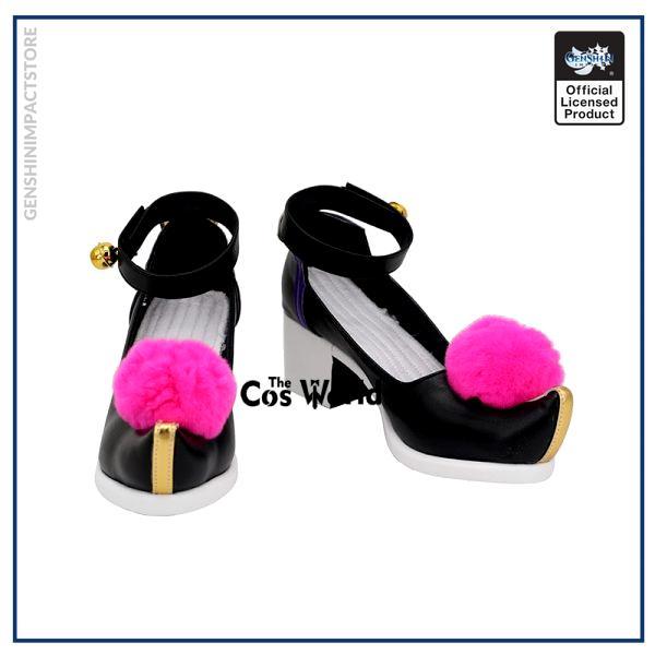 Genshin Impact Liyue Harbor Qiqi Games Customize Cosplay High Heels Shoes 1 - Genshin Impact Store