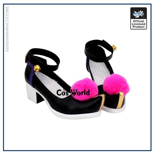 Genshin Impact Liyue Harbor Qiqi Games Customize Cosplay High Heels Shoes 2 - Genshin Impact Store