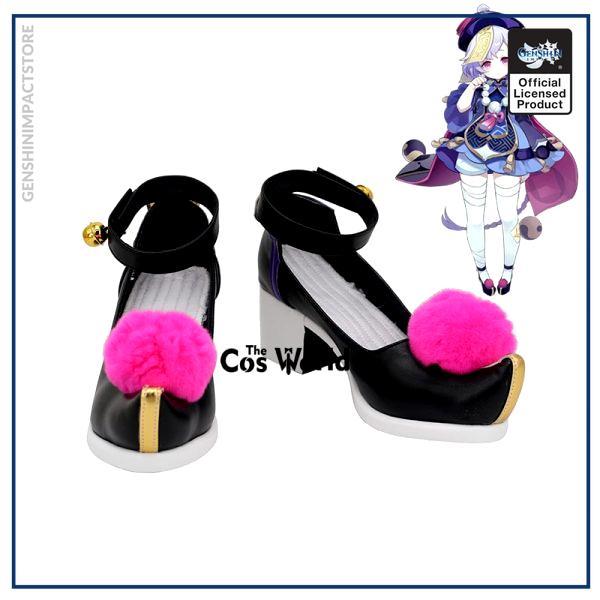 Genshin Impact Liyue Harbor Qiqi Games Customize Cosplay High Heels Shoes - Genshin Impact Store