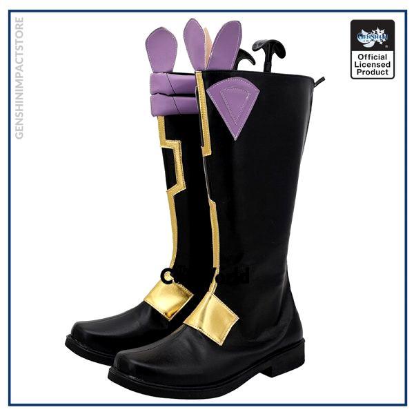 Genshin Impact Liyue Harbor Xiao Games Customize Cosplay Low Heels Shoes Boots 2 - Genshin Impact Store