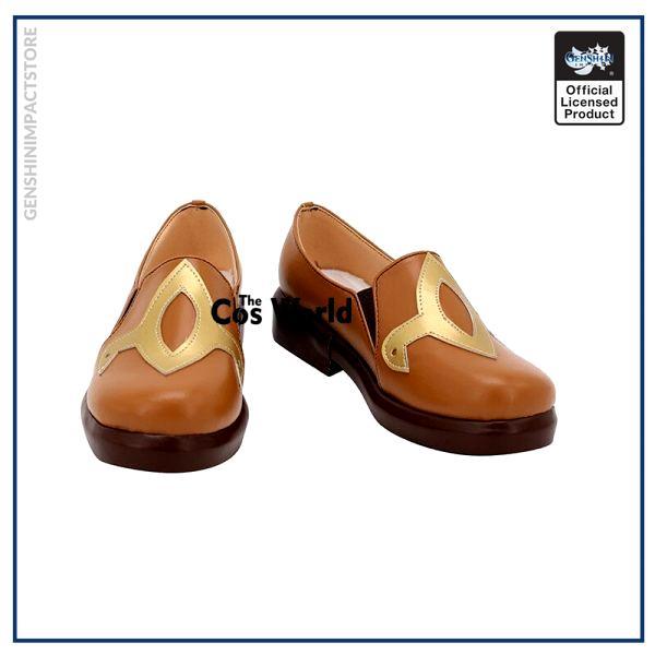 Genshin Impact Liyue Hu Tao Walnut Games Customize Anime Cosplay Low Heel Shoes 1 - Genshin Impact Store