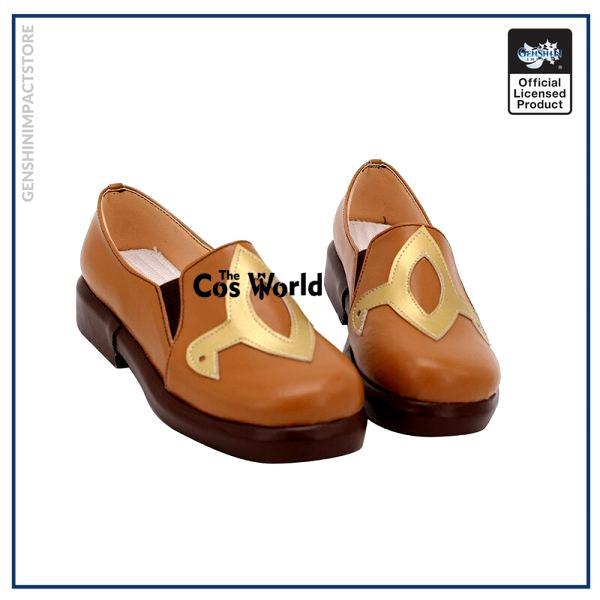 Genshin Impact Liyue Hu Tao Walnut Games Customize Anime Cosplay Low Heel Shoes 2 - Genshin Impact Store