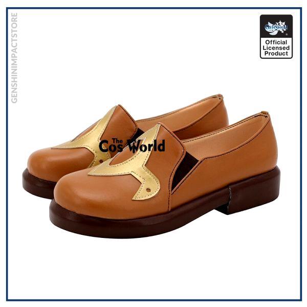 Genshin Impact Liyue Hu Tao Walnut Games Customize Anime Cosplay Low Heel Shoes 3 - Genshin Impact Store
