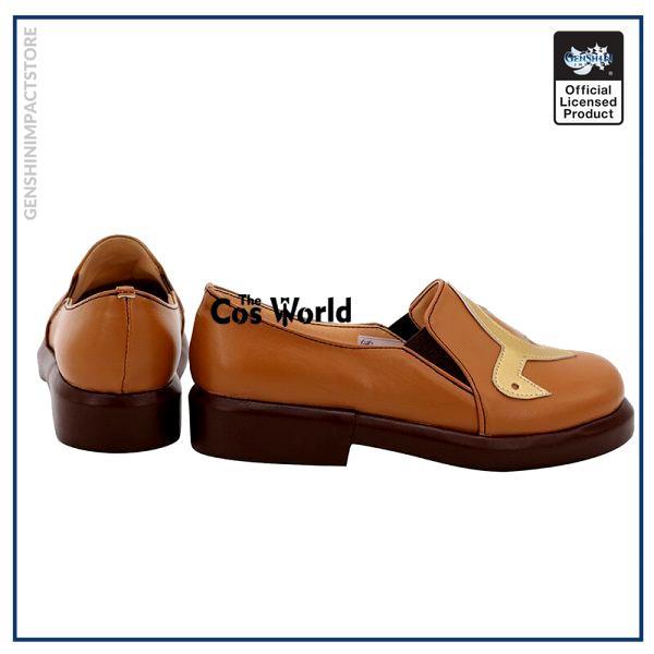 Genshin Impact Liyue Hu Tao Walnut Games Customize Anime Cosplay Low Heel Shoes 4 - Genshin Impact Store