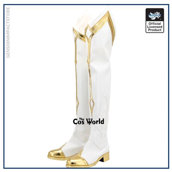 Genshin Impact Lumine Games Customize Cosplay Low Heel Shoes Boots 2 - Genshin Impact Store