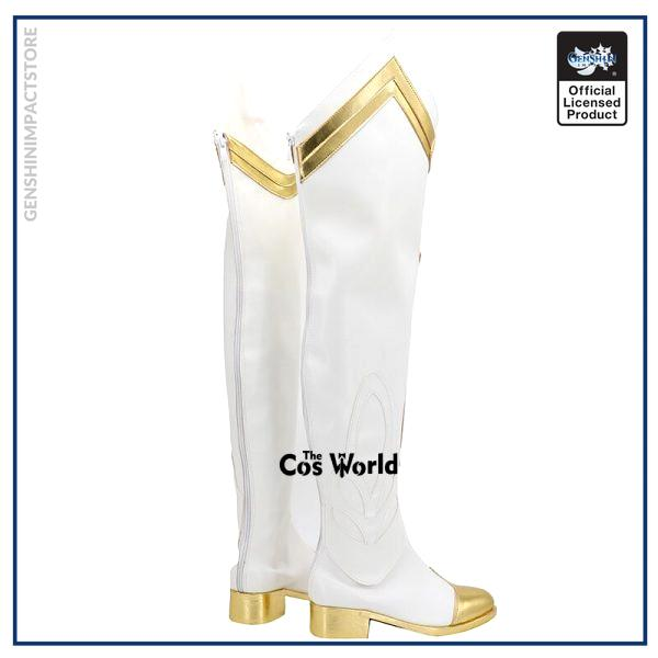 Genshin Impact Lumine Games Customize Cosplay Low Heel Shoes Boots 3 - Genshin Impact Store