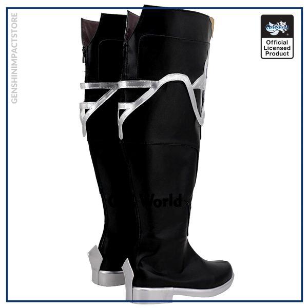 Genshin Impact Mondstadt Albedo Games Customize Cosplay Low Heel Shoes Boots 3 - Genshin Impact Store