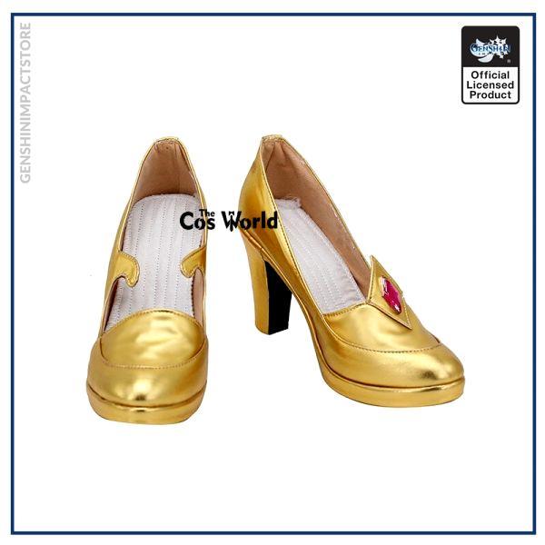 Genshin Impact Mondstadt Astrologist Mona Megistus Games Customize Cosplay High Heel Shoes 1 - Genshin Impact Store