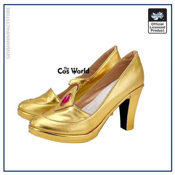 Genshin Impact Mondstadt Astrologist Mona Megistus Games Customize Cosplay High Heel Shoes 2 - Genshin Impact Store