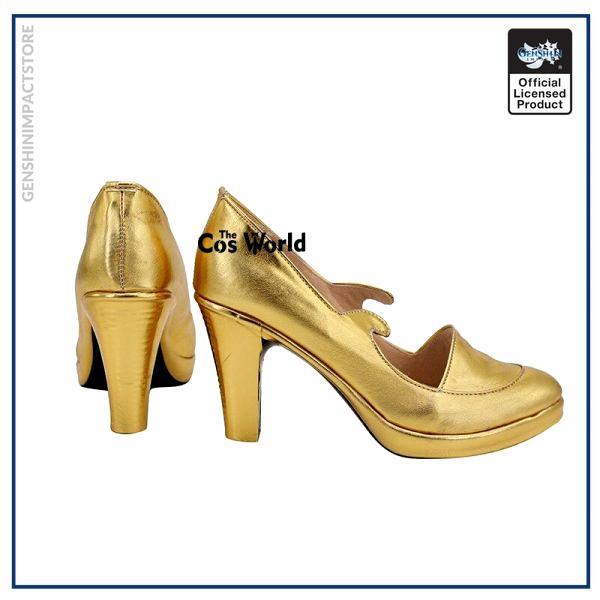 Genshin Impact Mondstadt Astrologist Mona Megistus Games Customize Cosplay High Heel Shoes 3 - Genshin Impact Store