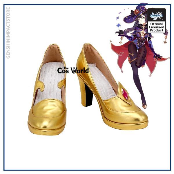 Genshin Impact Mondstadt Astrologist Mona Megistus Games Customize Cosplay High Heel Shoes - Genshin Impact Store