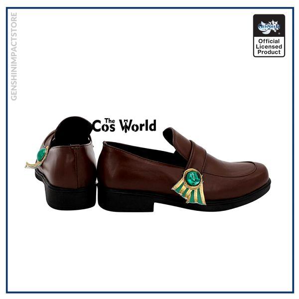 Genshin Impact Mondstadt Venti Games Customize Anime Cosplay Low Heel Shoes 3 - Genshin Impact Store