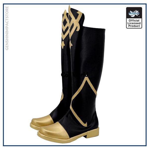 Genshin Impact Traveler Aether Games Customize Cosplay Low Heel Shoes Boots 2 - Genshin Impact Store