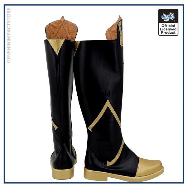 Genshin Impact Traveler Aether Games Customize Cosplay Low Heel Shoes Boots 3 - Genshin Impact Store