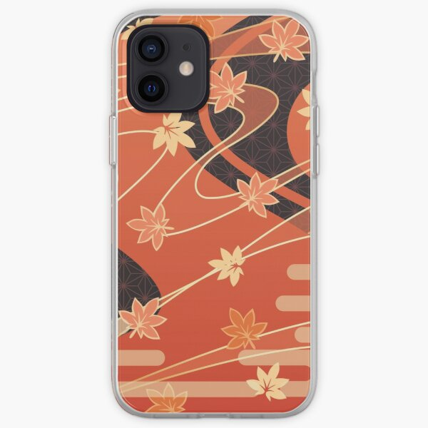 Genshin Impact - Kaedehara Kazuha Pattern iPhone Soft Case RB1109 product Offical Genshin Impact Merch