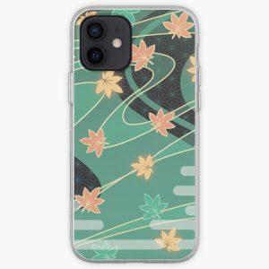 Genshin Impact - Kaedehara Kazuha Burst Pattern iPhone Soft Case RB1109 product Offical Genshin Impact Merch