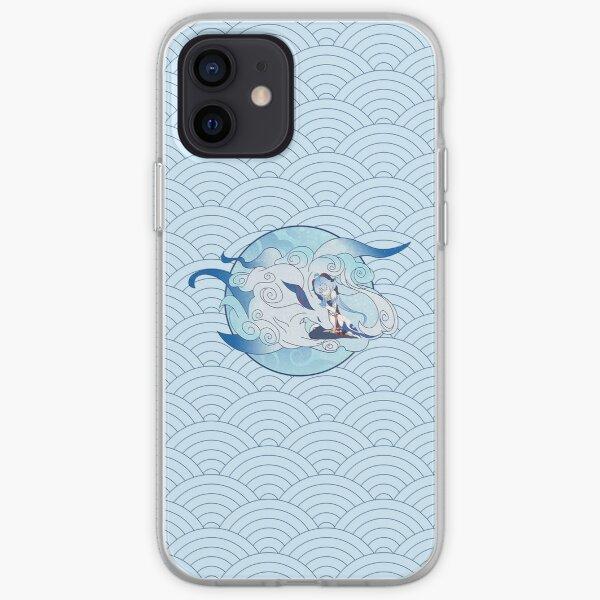 Genshin Impact Ganyu Pattern iPhone Soft Case RB1109 product Offical Genshin Impact Merch