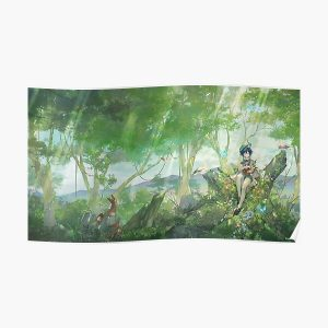 Venti - Forest | Genshin Impact Poster RB1109 product Offical Genshin Impact Merch