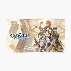 Genshin Impact - Characters Poster RB1109 product Offical Genshin Impact Merch