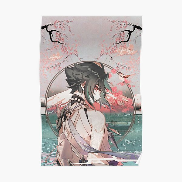 Xiao  Poster RB1109 product Offical Genshin Impact Merch