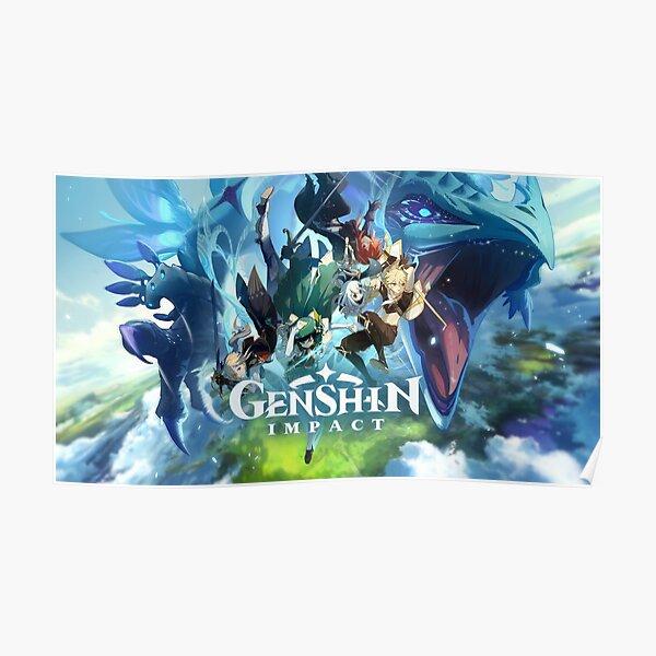 GENSHIN IMPACT Poster RB1109 product Offical Genshin Impact Merch