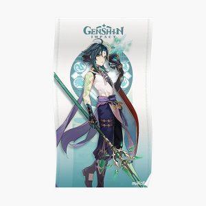 Genshin Impact Xiao Poster RB1109 product Offical Genshin Impact Merch