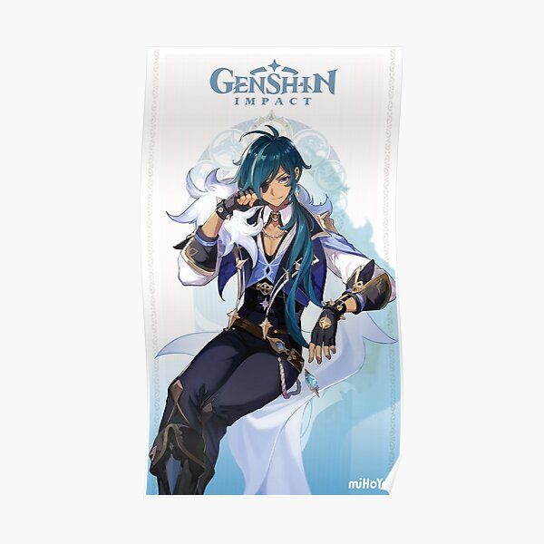 Genshin Impact Kaeya Poster RB1109 product Offical Genshin Impact Merch