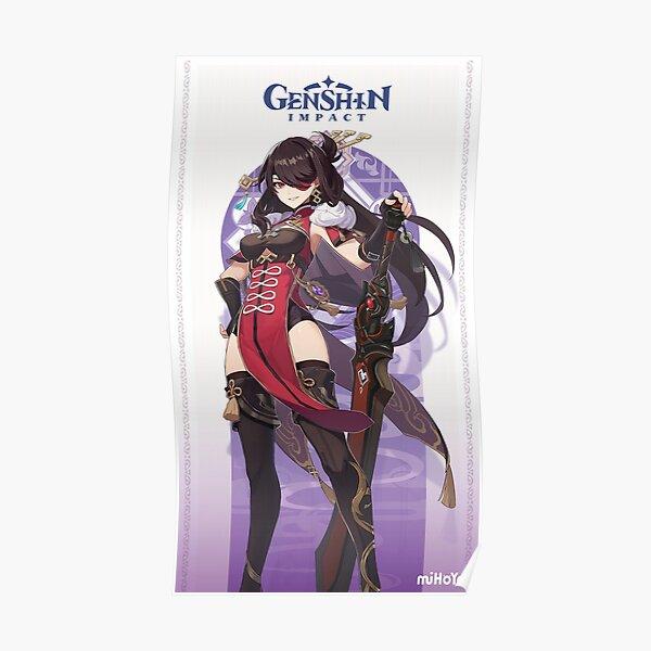 Genshin Impact Beidou Poster RB1109 product Offical Genshin Impact Merch