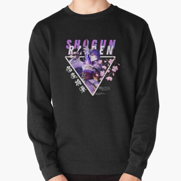 Raiden Shogun BAAL - Genshin Impact New Character Pullover Sweatshirt RB1109 product Offical Genshin Impact Merch